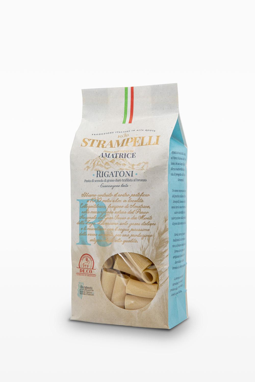 Spaghetti - Pasta di semola di grano duro trafilata al bronzo, grano 100% italiano essiccazione lenta.