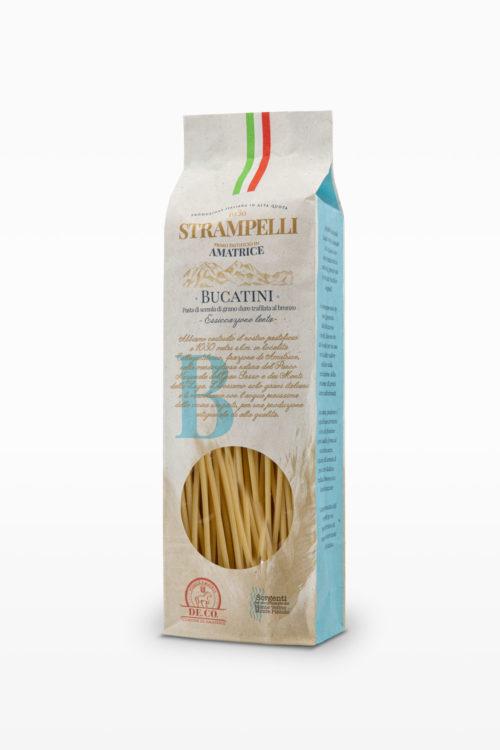 BUCATINI – Trafilati al bronzo, grano 100% italiano
